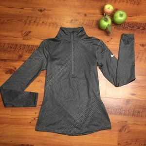 Long sleeve Nike 3/4 Zip Athletic Pullover